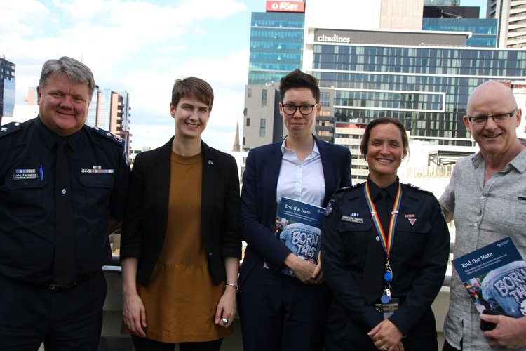 Hate Crime report and recommendations - photo HRLC 2018